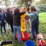 Apfelsaft-Aktion der Essbaren Stadt