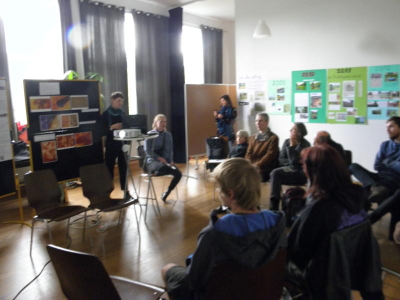 Präsentation Kasseler Bunkerpilze