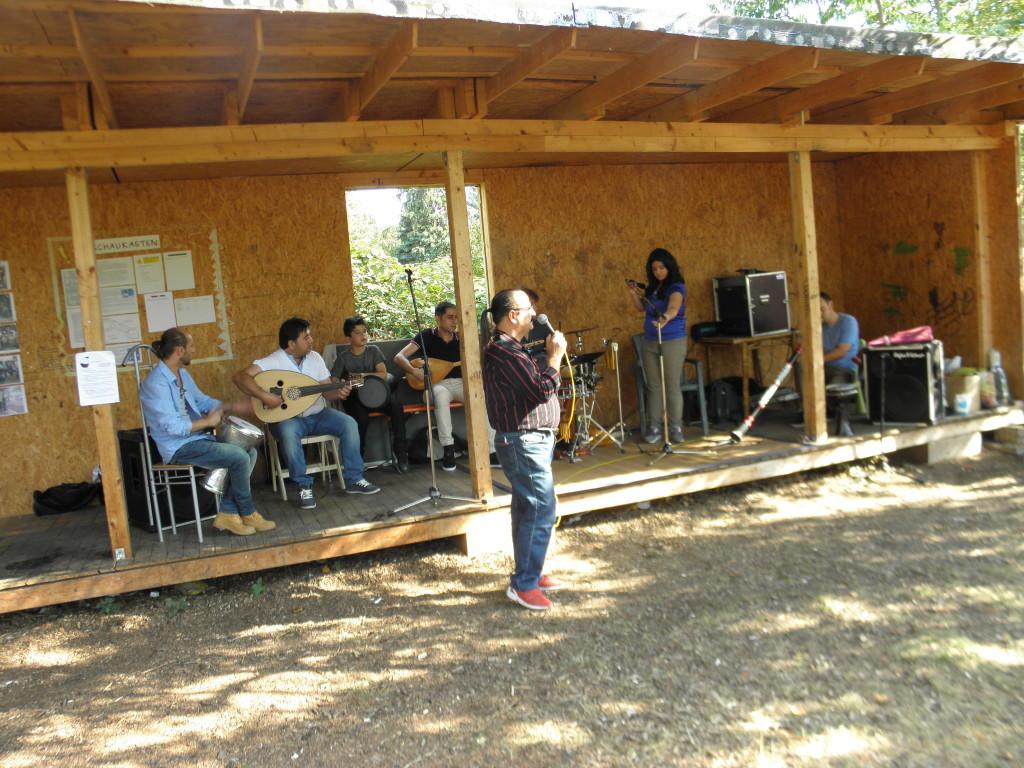 auf der GartenKulturBühne: Salonmusik aus dem FF