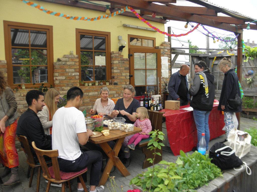 Foodsharing-Schnippelparty