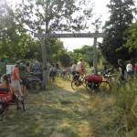 Ankunft im ForstFeldGarten