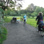 Ankunft Essbarer Park Waldau