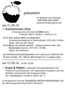 Plakat Kulinarische Kino / Feierabendmarkt