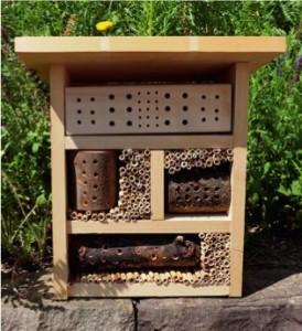 Prototyp eines Insektenhauses