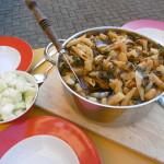 Kohlrabi roh und an Kräuter-Fenchel-Pasta