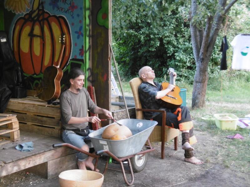 Kürbis-Musik