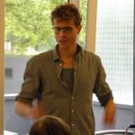 Workshopleiter Sebastian Spieker