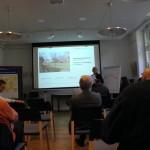 Fr. Spielmeyer vom Stadtplanungs-Amt stellt die Ausgangslage dar