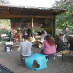 Musik mit Gartenkindern