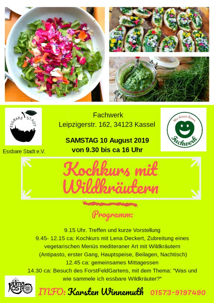 Wildkräuter Kochkurs 10.8. (2)