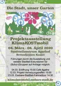 Plakat Ausstellungsmonat KlimaKOST 2020
