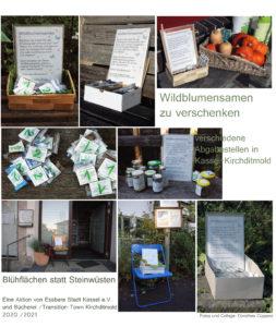 Saatgutverteilung versch.Standorte